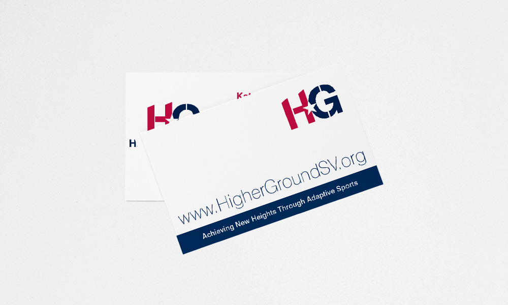 Higher Ground Business Cards