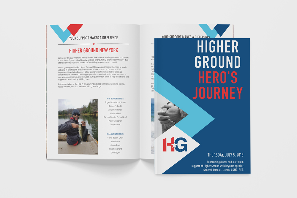 Higher Ground Hero's Journey Program