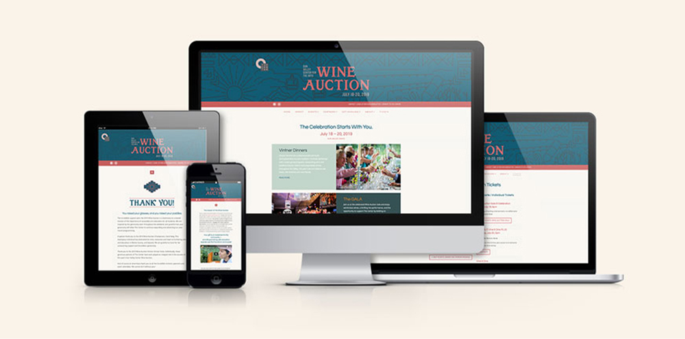 Sun Valley Center For The Arts Wine Auction Website